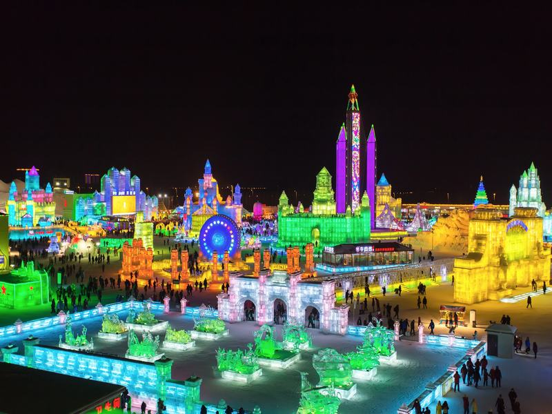 6-day Harbin Ice Festival & Chengdu Panda Tour