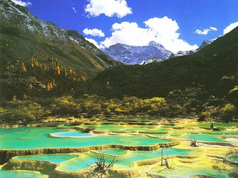 5-day Chengdu Jiuzhaigou Huanglong Tour